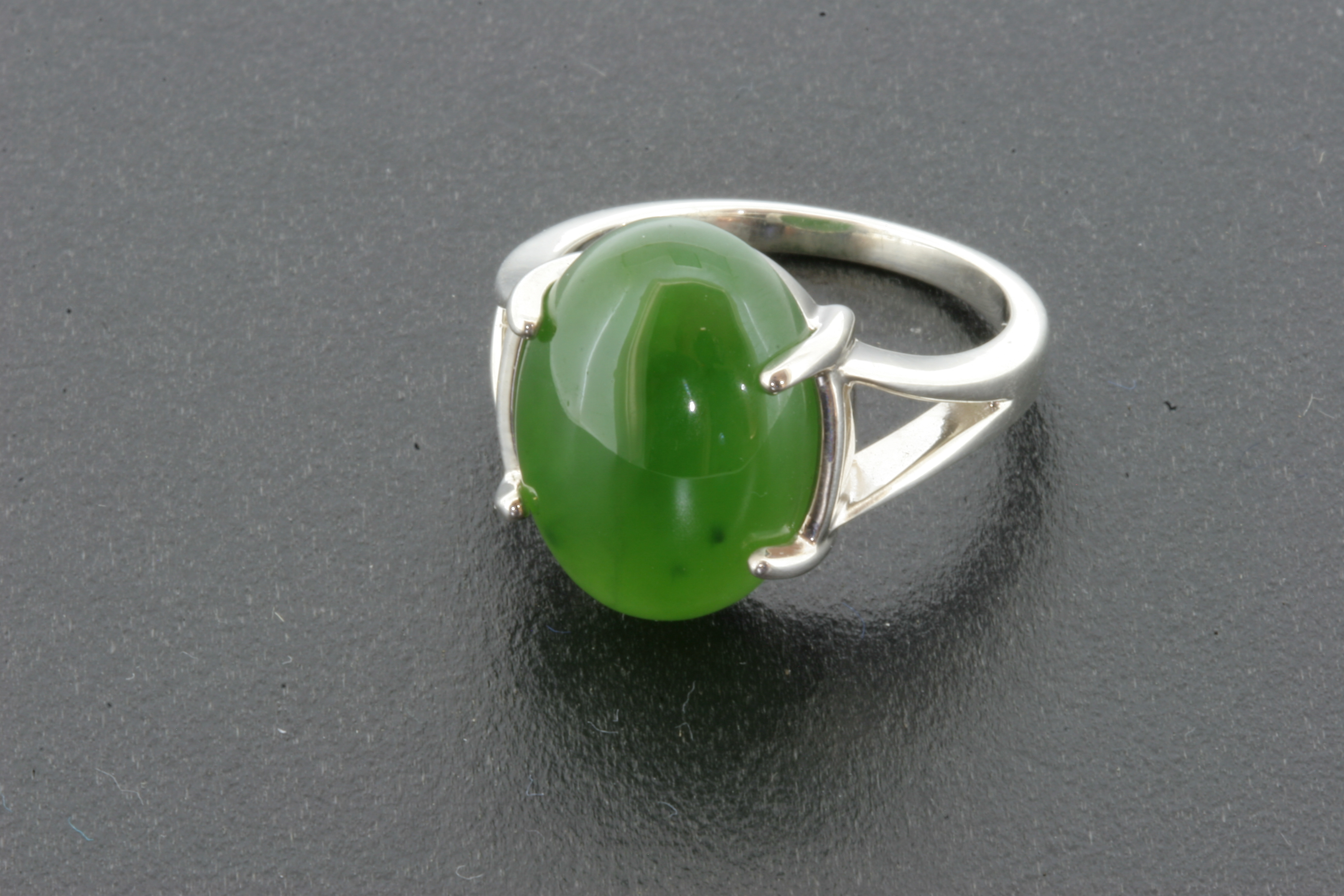 jade ring in sterling silver 481 � jade carver